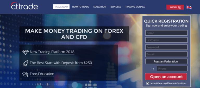 CT-Trade scam